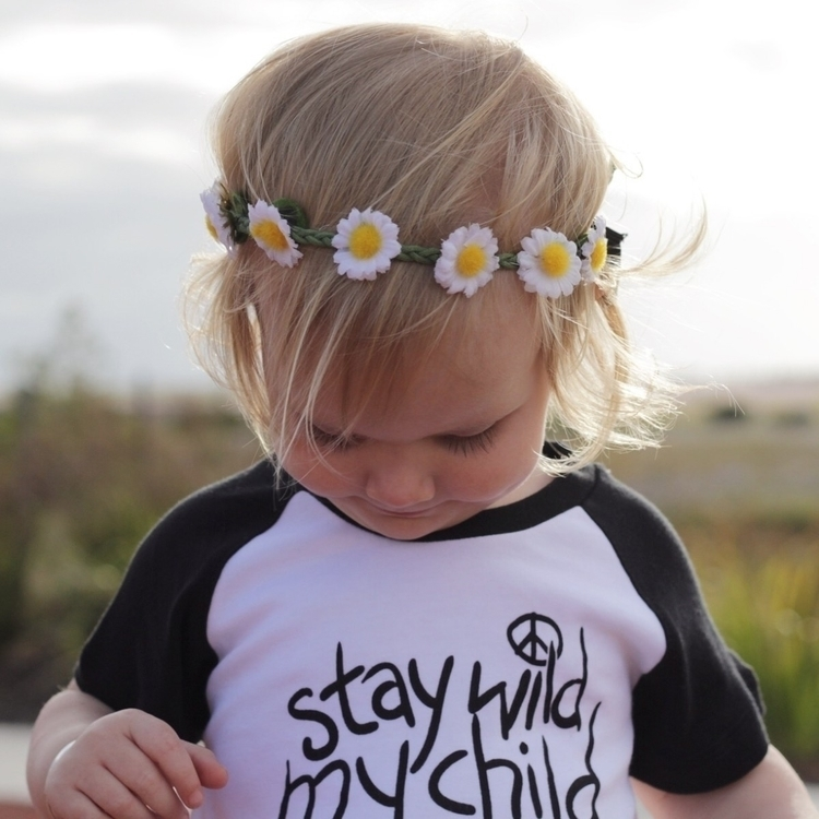 'Stay Wild, Child' tee - indieandsloan   ello