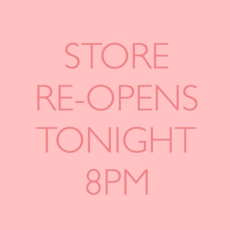 Today day! etsy store tonight 8 - peachykeenhandmade | ello