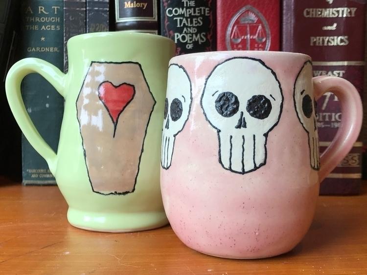 love making mugs  - ceramics, pottery - mcpspots | ello