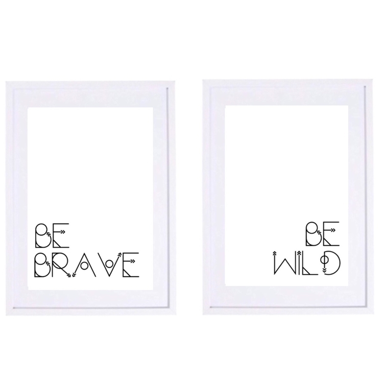 Brave - Wild Prints AfterPay - boho - ohhellowallprints | ello