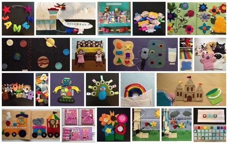 handmadeconnect, felt, wahm, children - thepurpleempire | ello