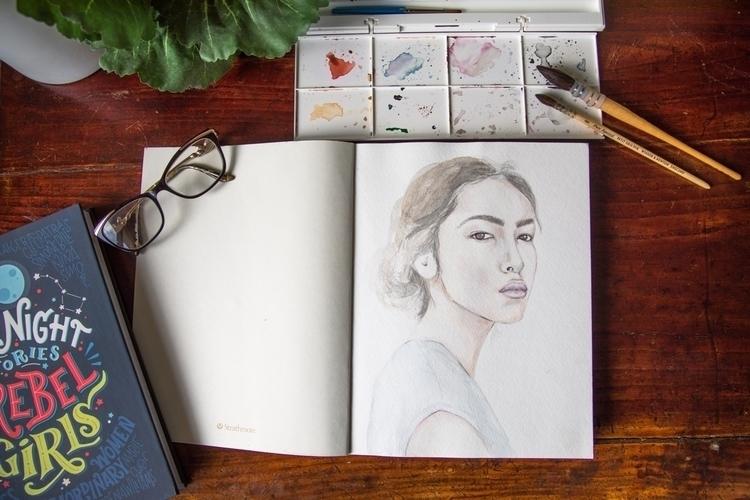 Watercolour prismacolor pencils - thalialuntayaoartist | ello