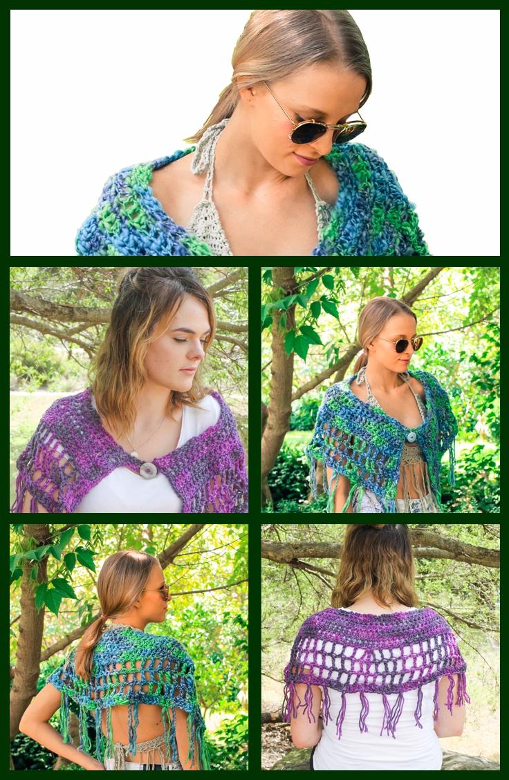 Create sweet crochet caplet - l - madeforyoubyfi | ello