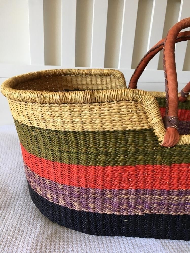 baby Moses basket handwoven art - orana_home | ello