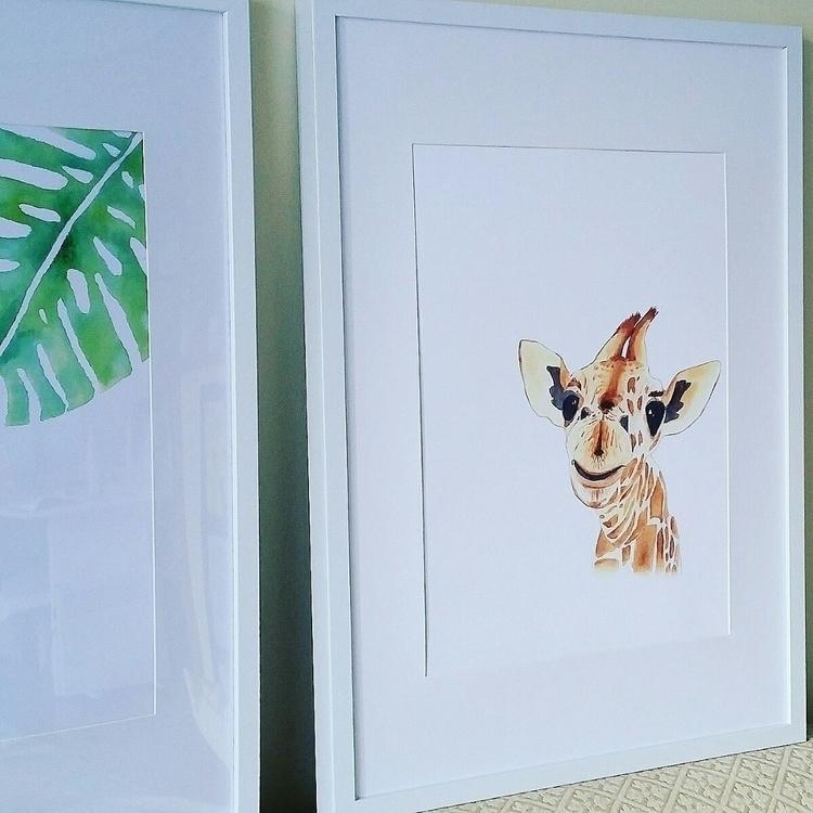 Harold Giraffe print website - giraffe - bluegingerdesign | ello