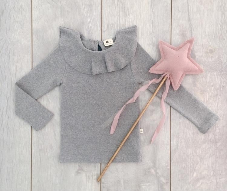 stunning grey Dusty Pink thick  - indiaandgrace   ello