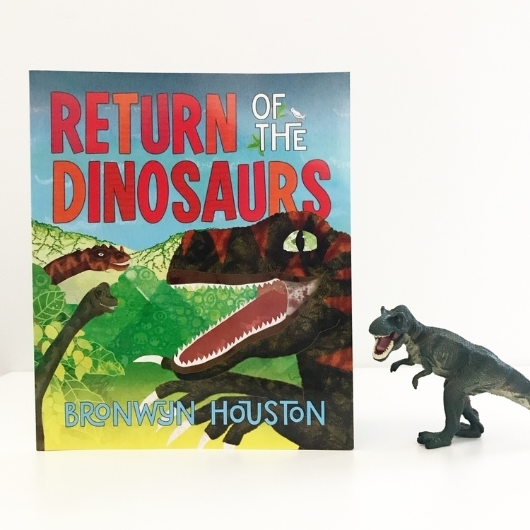 Return Dinosaurs fun book read - kidsbookswelove | ello