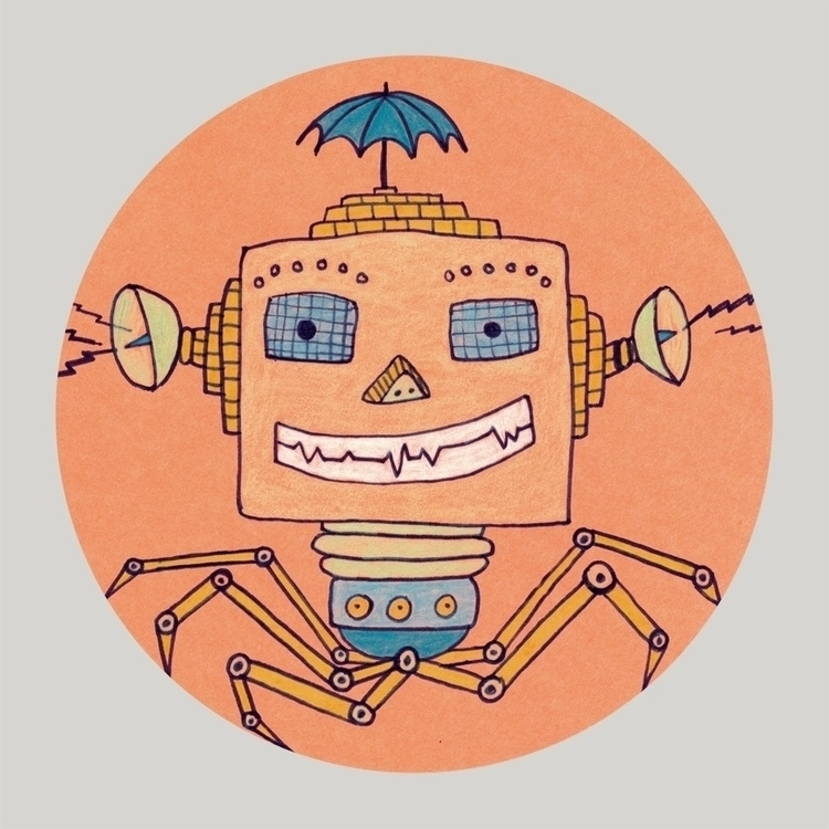 Arachnobot - robot, beepbeepboop - lenapflueger | ello