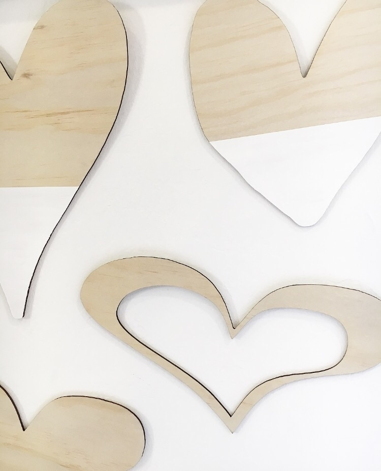 hearting Hearts Wall collection - shartruese | ello