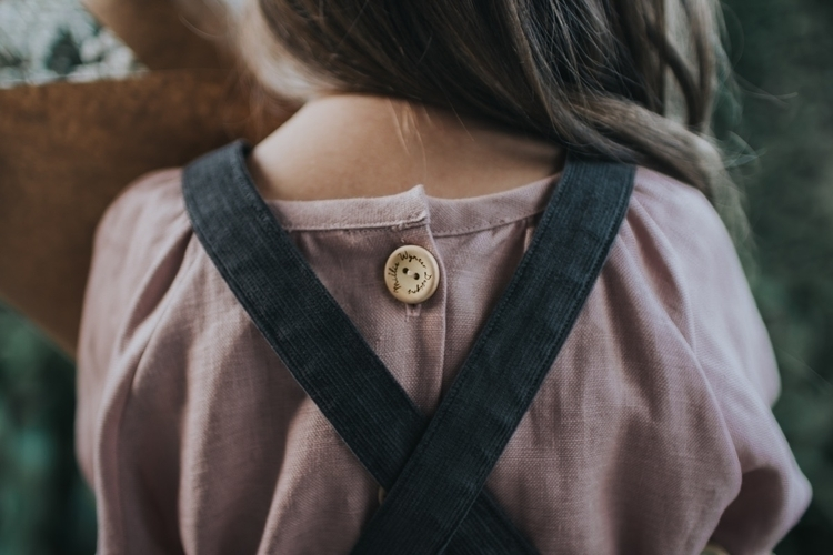 ~ Dusty purple LINEN blouse, co - milliewynterdesigns | ello