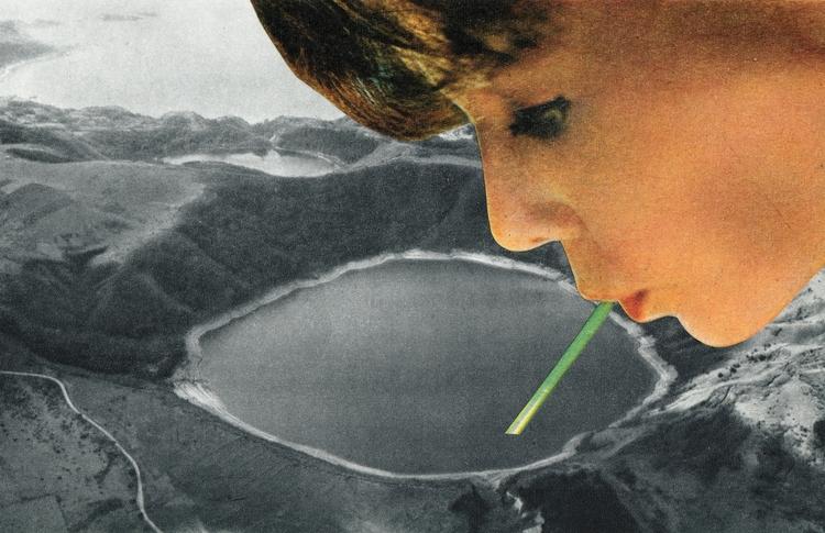 Désir de boire - 16,6x10,8 cm P - claire_martine_ | ello
