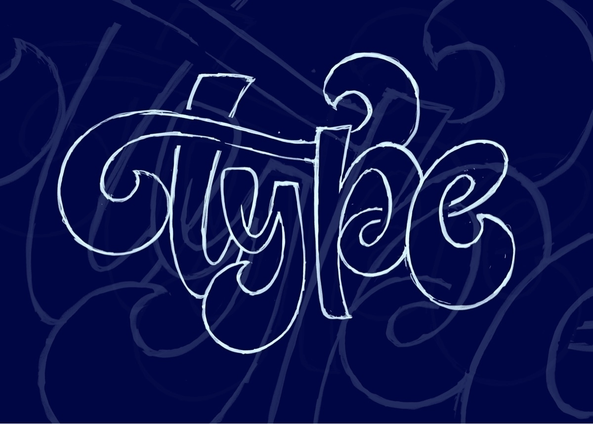 video process creating letterin - typemate | ello