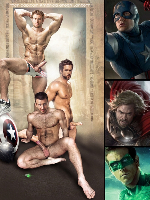 chrishemsworth, chrisevans, ryanreynolds - astroverted | ello