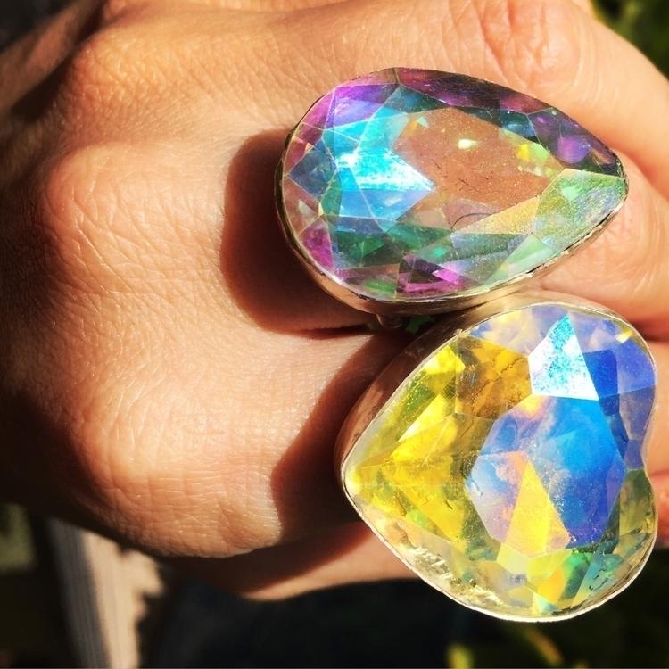 Handmade Crystal Sun Catcher Ri - mermaidmana | ello