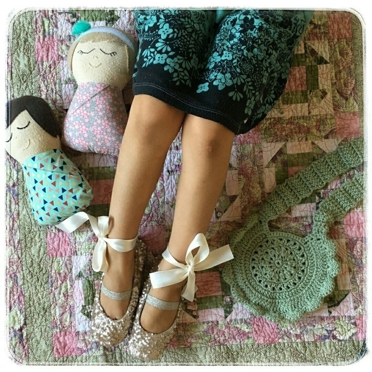 Time flatlay photo cute legs sh - crochetedbycrissa | ello