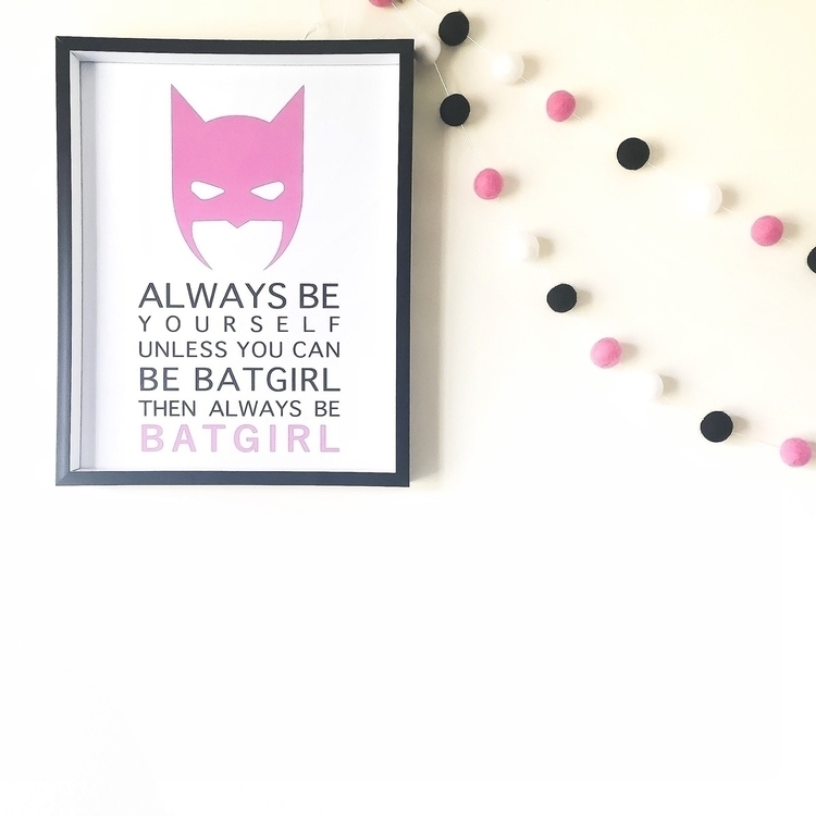 Superhero - batgirl#superhero#batman#kidsbedroomdecor - mooi_design_aus | ello