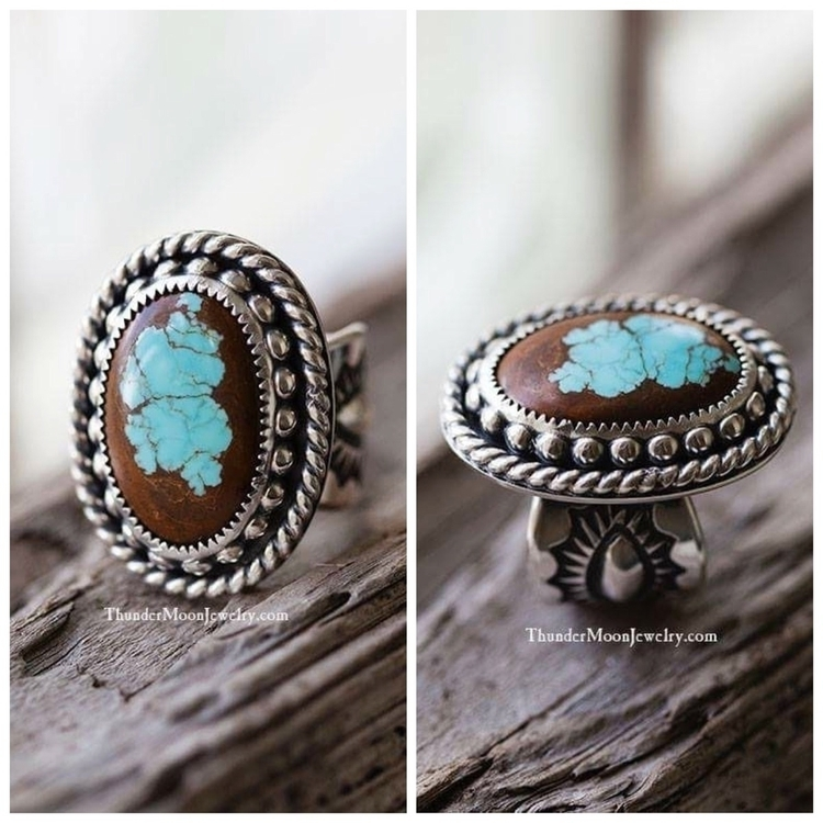 Mmmm loving beautiful stone bad - thundermoonjewelry | ello