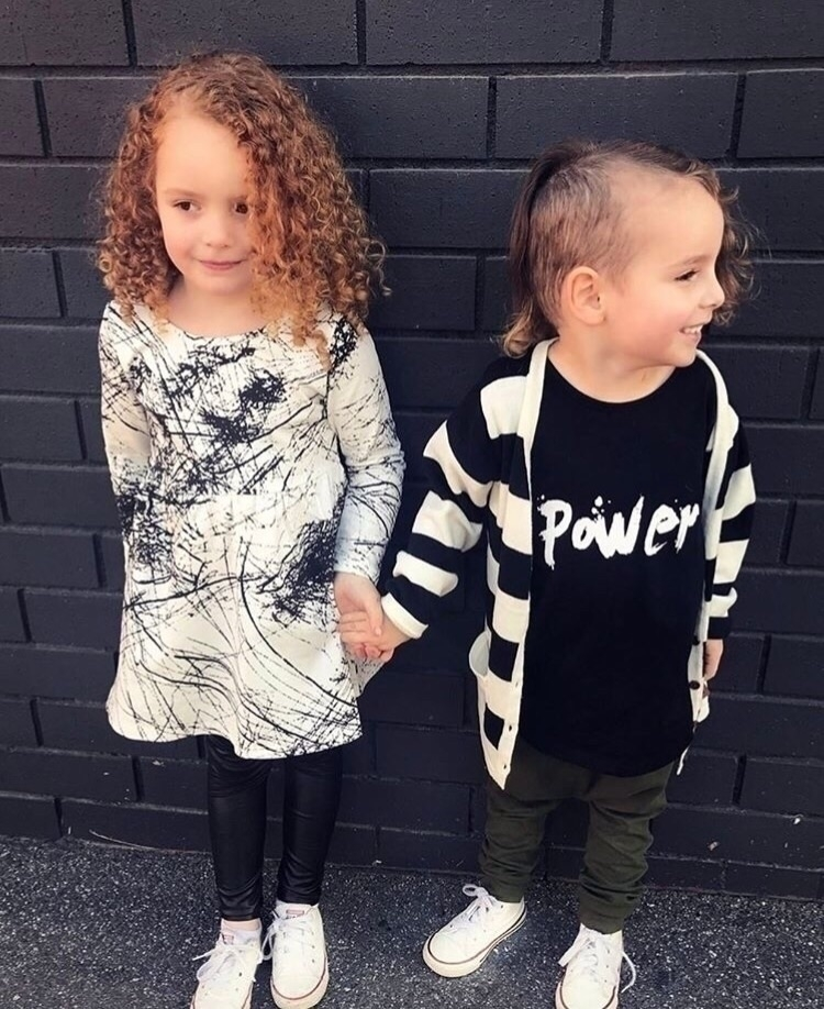 gorgeous Vienna dress black pow - urbanbambino | ello