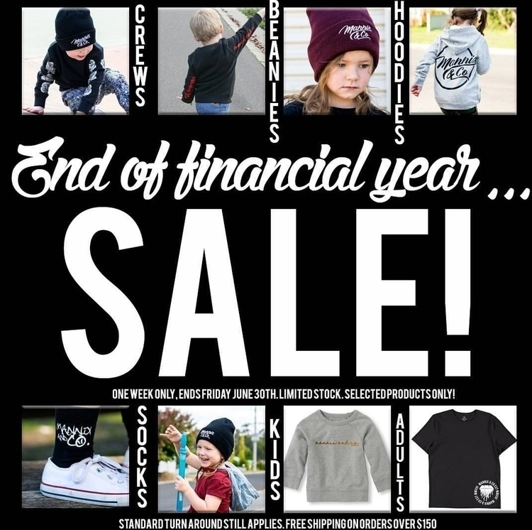 EOFY SALE! 30% SELECTED ITEMS!  - mannixandco | ello