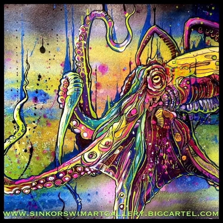 prints original site - octopus, art - iamryancase | ello