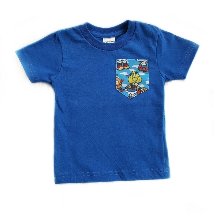 plenty Rainbow Brite Pocket Tee - wildandcrazythreads | ello