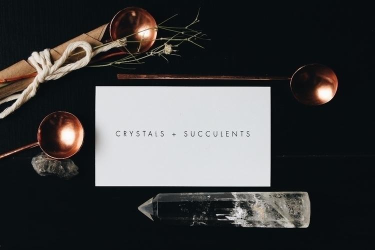 Handmade copper spoons shop! Pe - crystalsandsucculents | ello