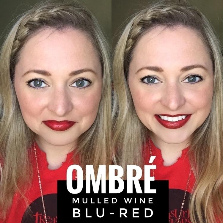 attempted ombré lip week. Lined - kissandtellkyle | ello