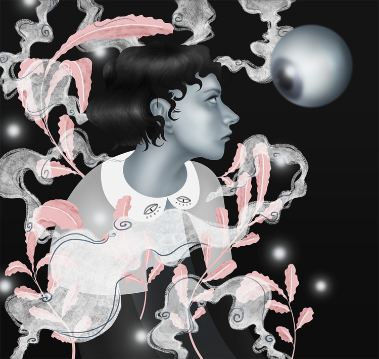 Selfportrait works Behance - art, - ioanahara | ello