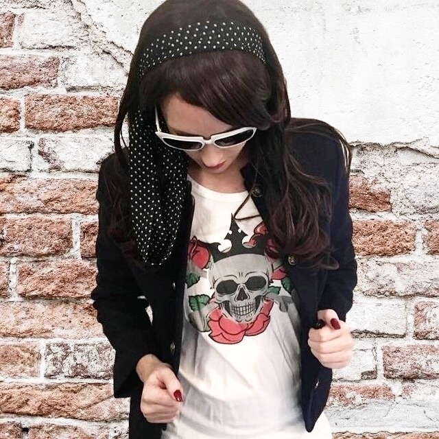 Skull Tanks + Tees Shop TOPS On - citystylistapp | ello
