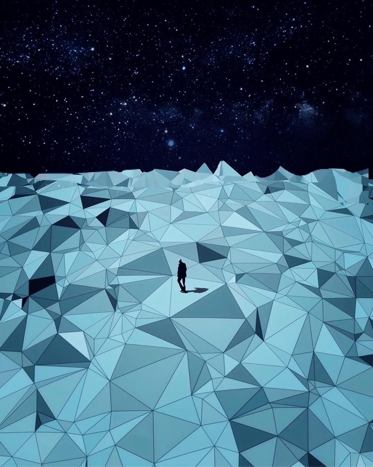 Glacial - art, digital, digitalart - mike_n5 | ello