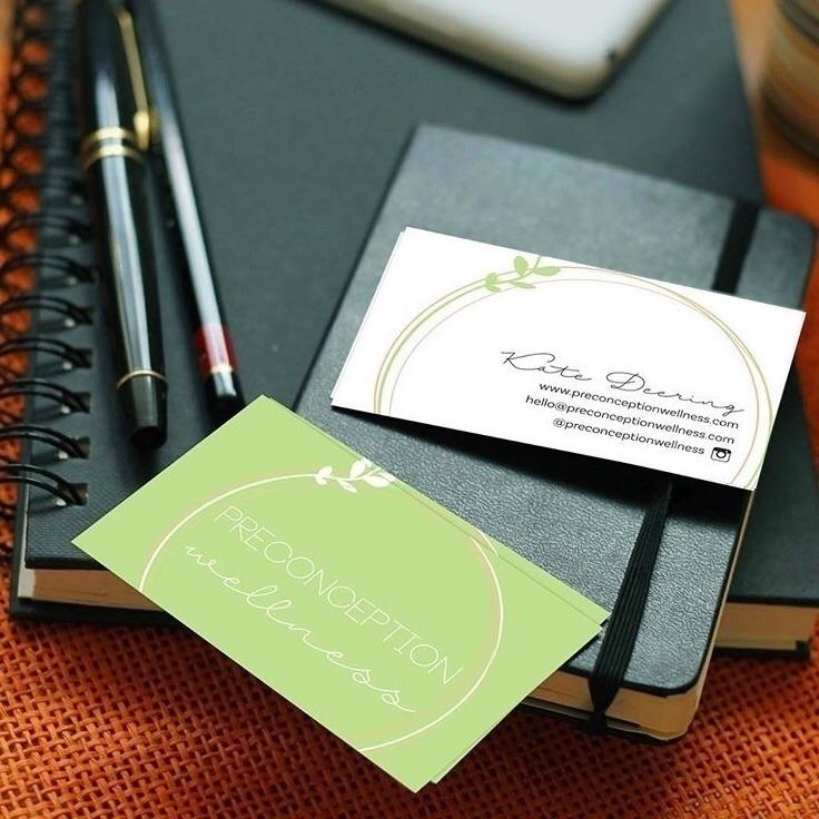 logo business cards Preconcepti - negativespacestudio | ello