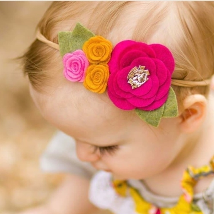 Monday, bright lovely today - flowerheadband - bittyandzo | ello