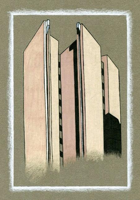 Brutal - 1, brutalism, architecture - genpopart | ello