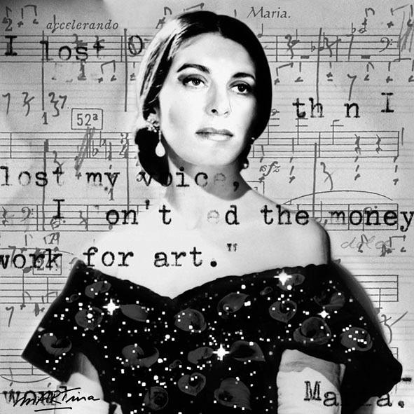 sold Maria Callas Icon Selfport - martinarall | ello