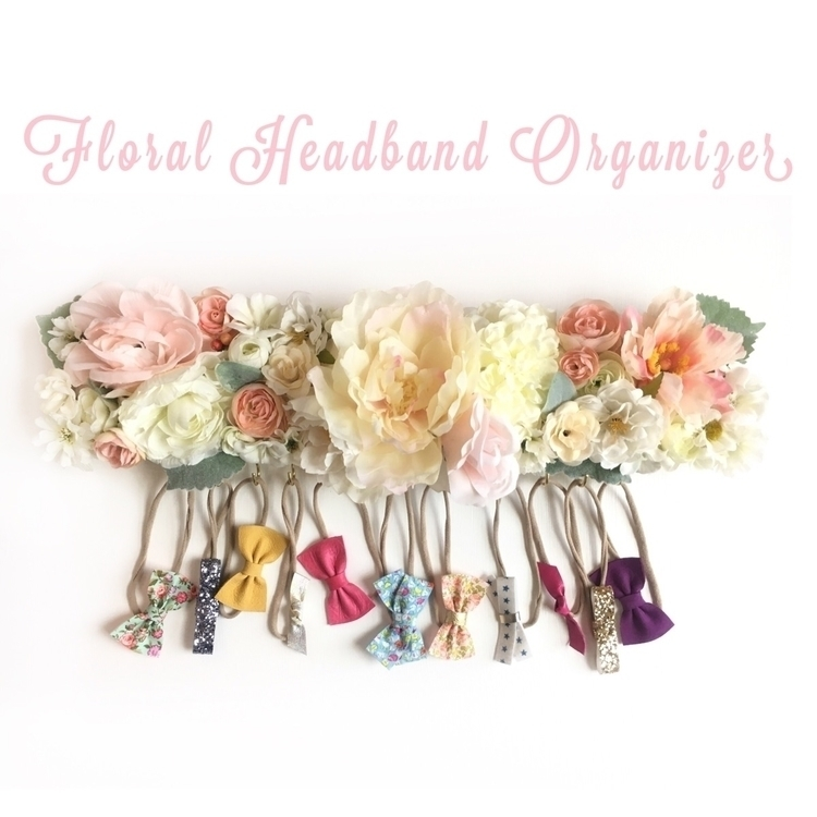 floral bow bar! Hold lovelies h - coastalbowco | ello