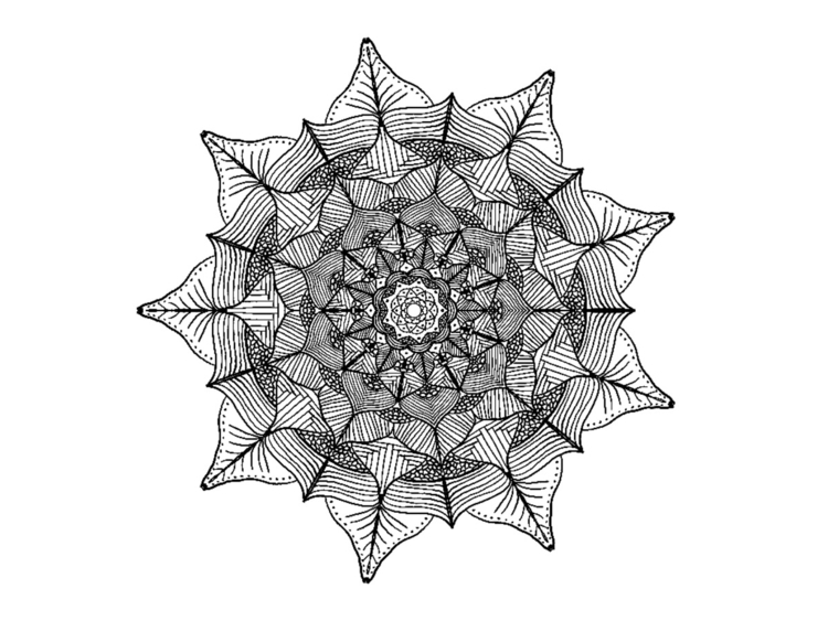 Mandala print. shop. --> sun - sunburntaloe | ello