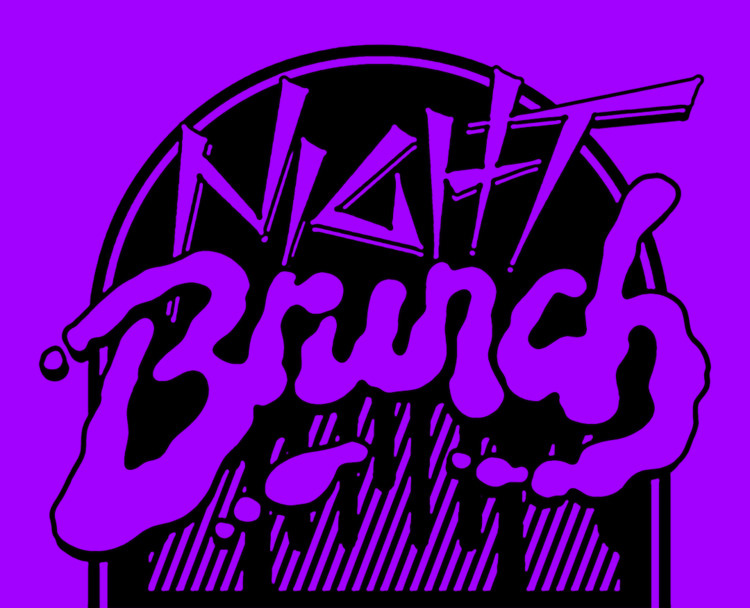 Logo graphic Night Brunch Secre - shelbyhohl | ello
