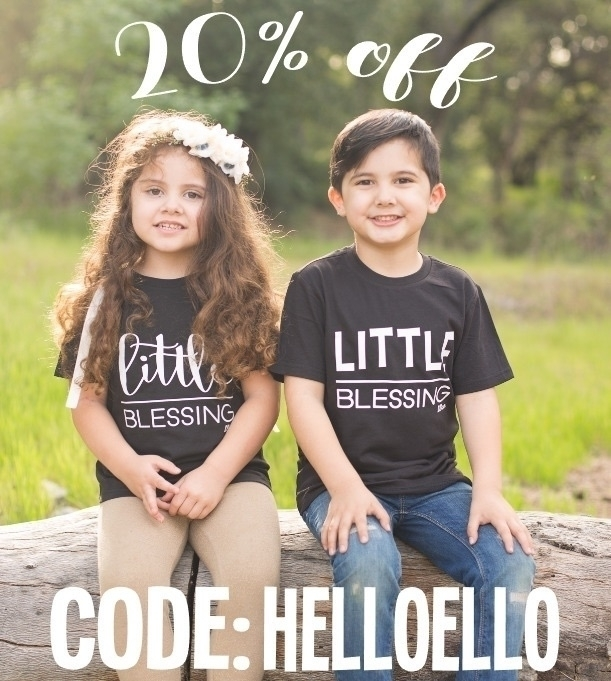 20% week HELLOELLO - littleblessingco - littleblessingco | ello