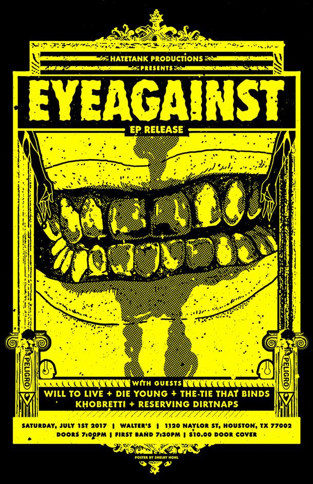 Poster design EP Release show D - shelbyhohl   ello