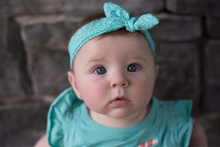 cutie loves teal blue top knott - rusticchicbymegan | ello