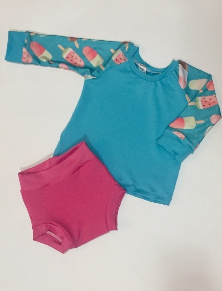 Check swim prints solids order  - chicka-deehandmade | ello