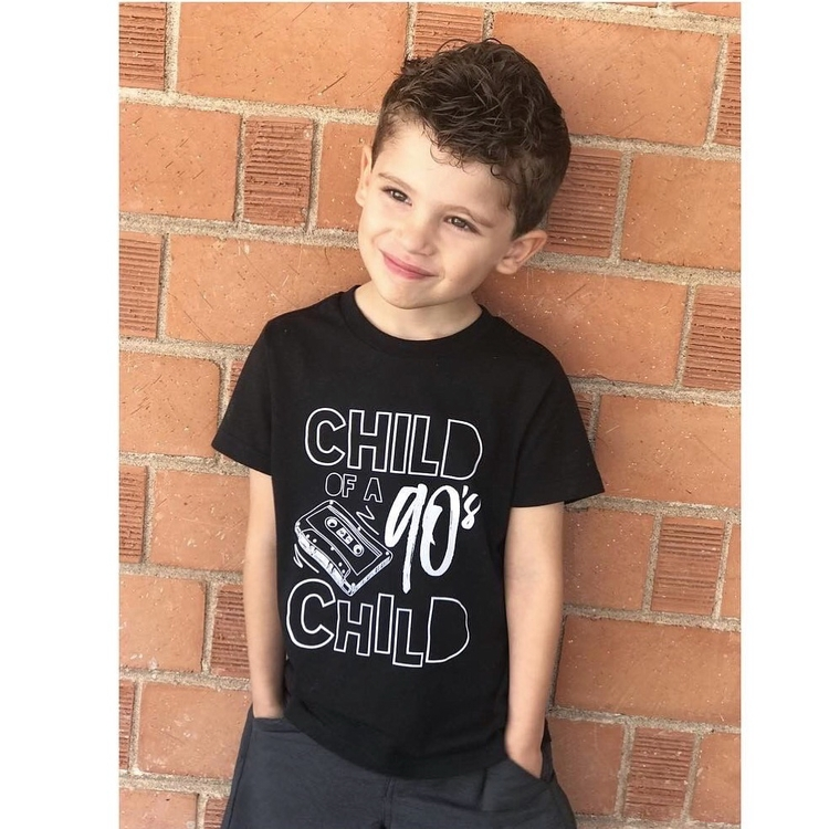 Child child tee - little_fox_threads | ello