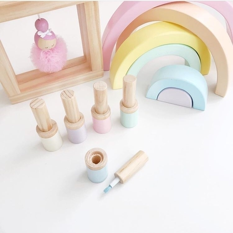 colours rainbow real nail polis - teacupkids | ello
