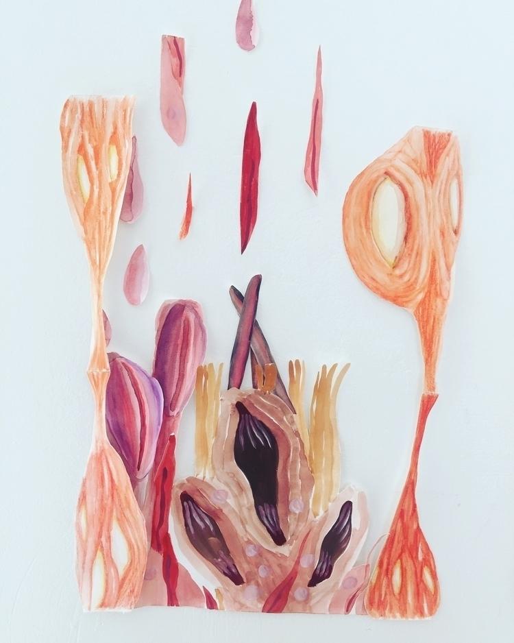 Fleshy landscape, working serie - oktoberart | ello