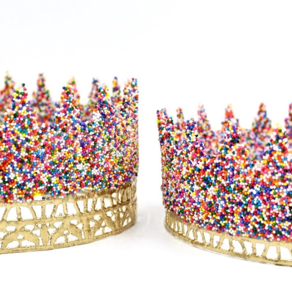 full size rainbow SPRINKLES lac - lovecrushcrowns | ello