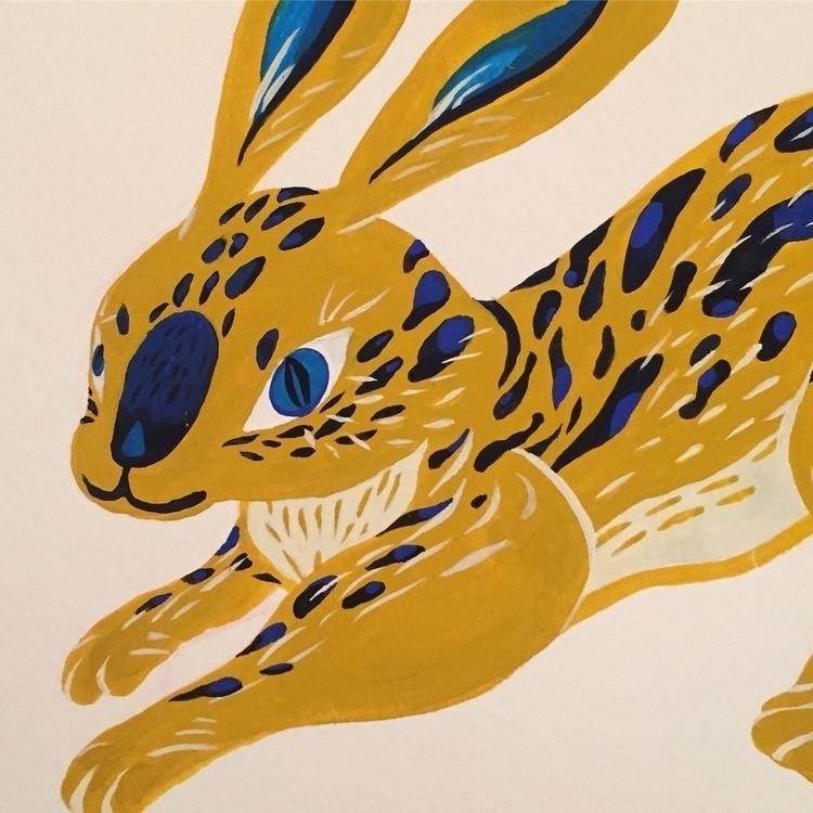 ' Rabbit !#rabbit - rabbits, rabbittattoo - popil-art | ello