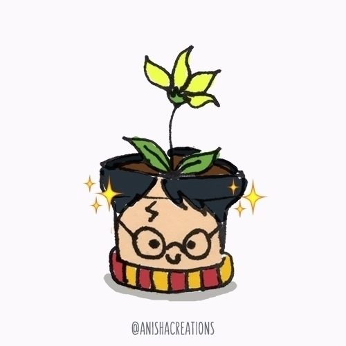 Cute doodle celebrate Harry Pot - anishacreations | ello