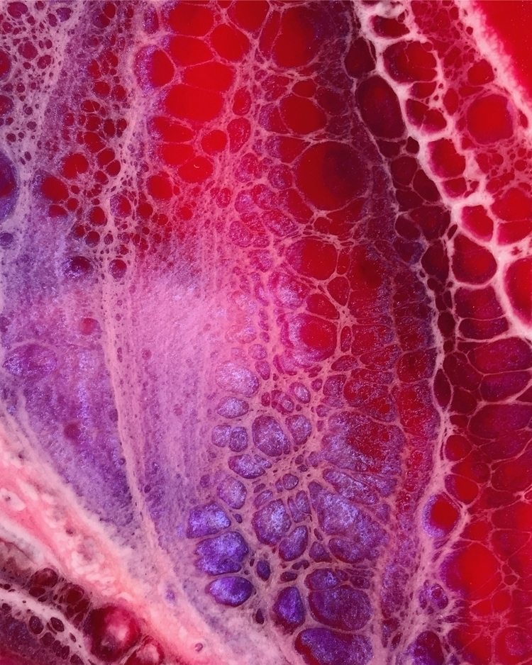 Resin painting closeup - rrizzy | ello
