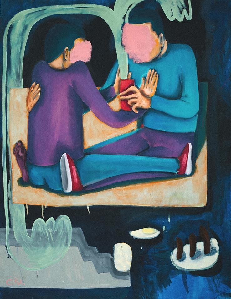 oil color canvas, 2016 - cocomash | ello