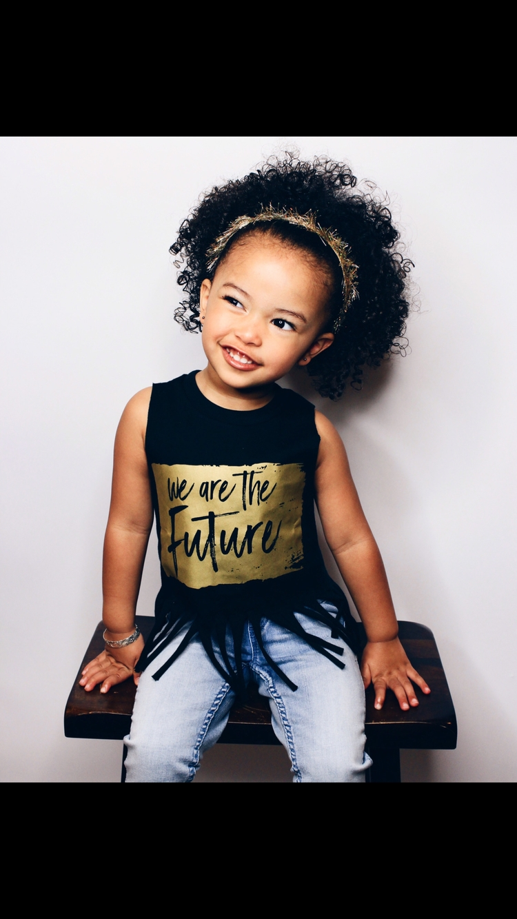 future kids tee ... Add fringe  - little_fox_threads | ello